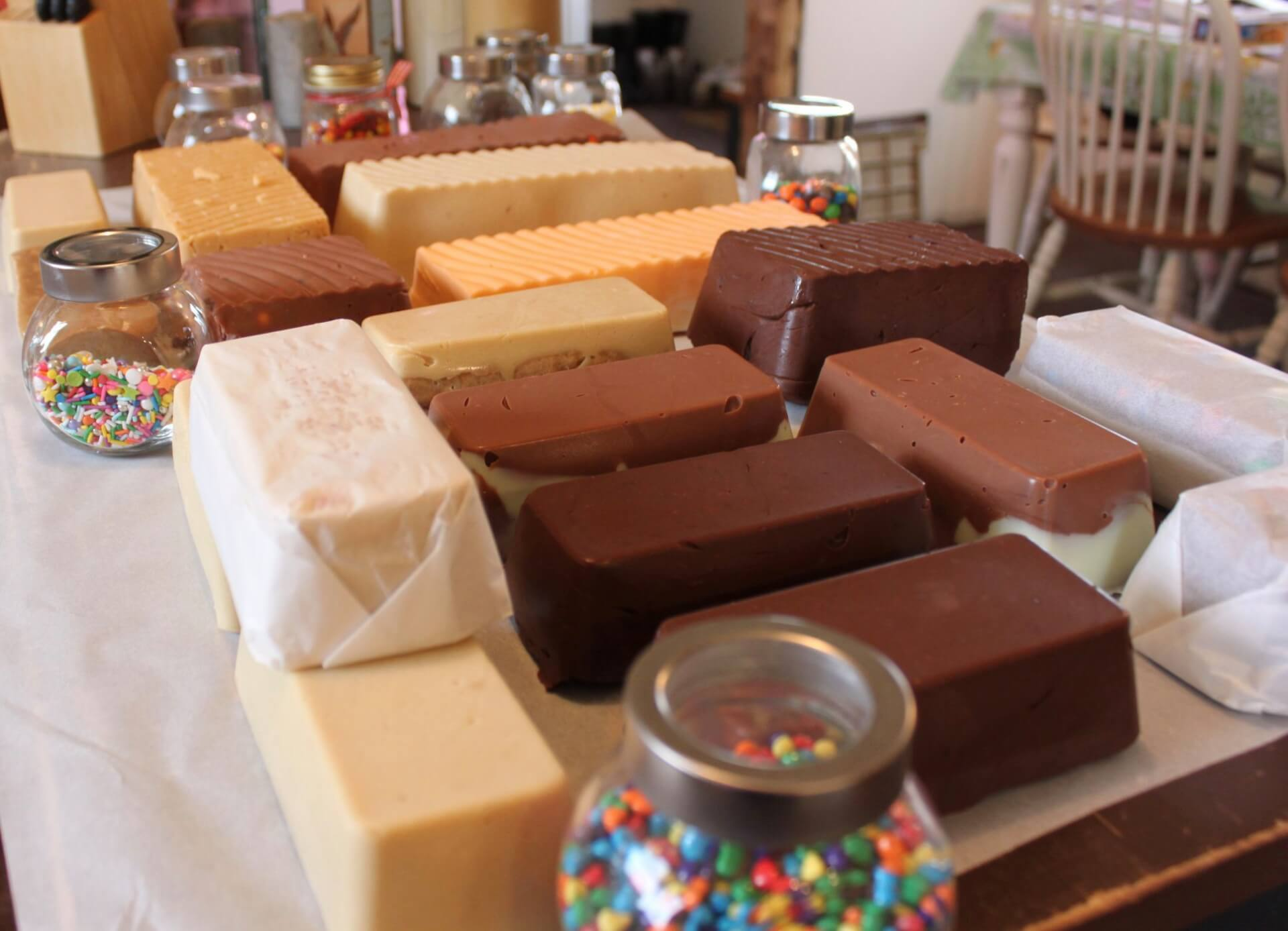 Fudge At The Market